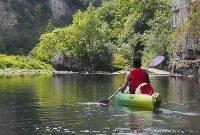 kanoën op Chassezac